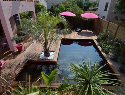 Inspiration jardin les am nagements de terrasses for Amenagement jardin terrasse